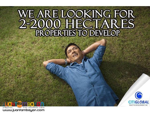 Unformed land for Sale