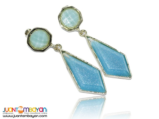 RHOMBUS EARRINGS  Reference: 84J95