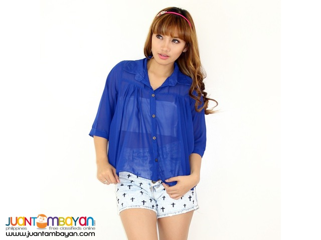 PURECOLOR BLOUSE  Reference: NU050