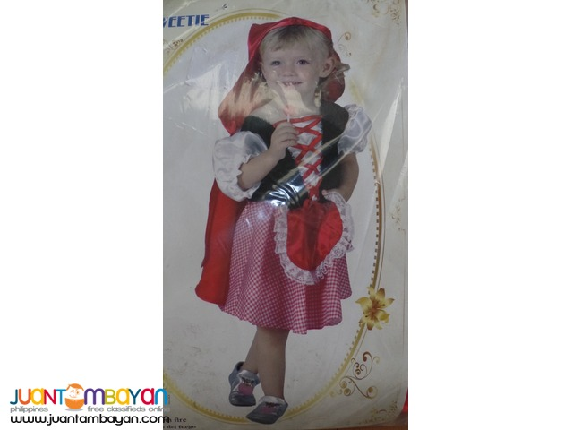 Red Riding Hood Costume for toddlers