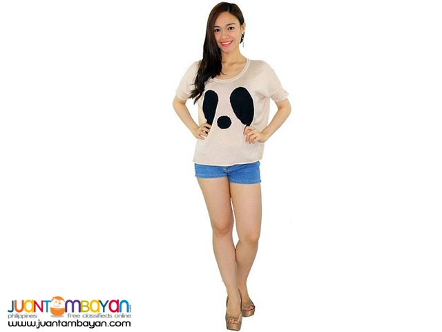 PANDA SLOUCHY TOP  Reference: AU471