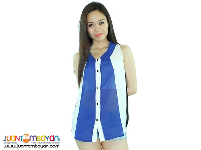 COLORBLOCK BLOUSE  Reference: NU1021