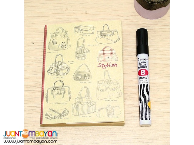 10.3x14cm. NOTEBOOK Reference: 28B04