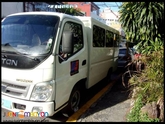 FOTON TORNADO FOR SALE!