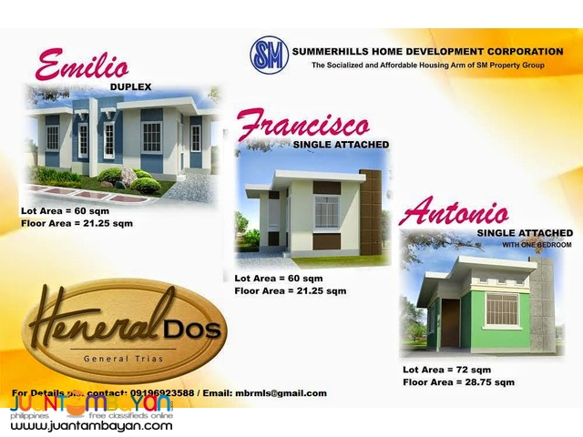 house for sale in tanza cavite