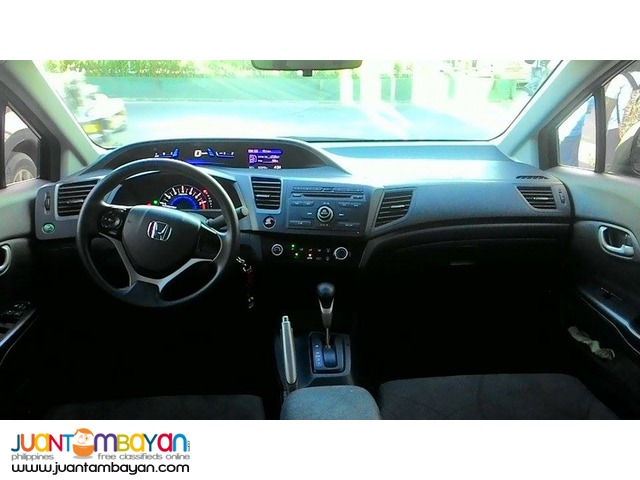 Honda Civic 2015 1.8S Black Automatic (2nd Hand) For Sale!