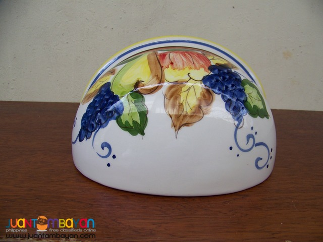 P1022 Porcelain Hand Painted Wall Vase, from USA.