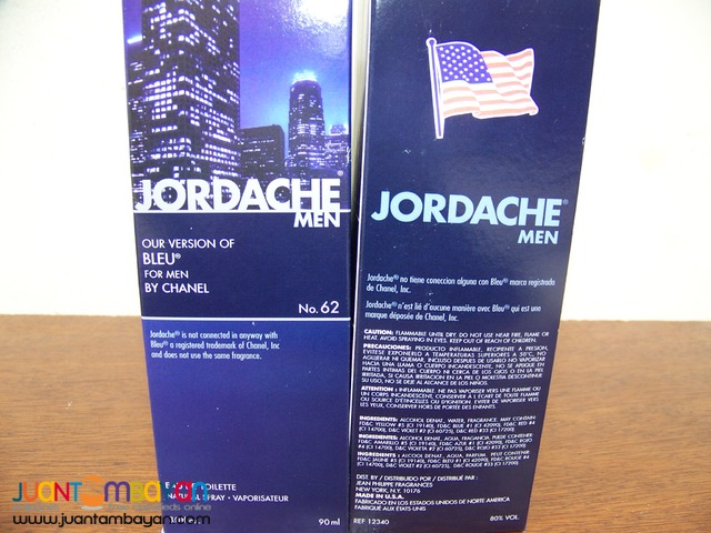 P1032 Bleu Jordache Parfum for men.