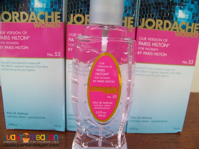 P1040 Paris Hilton by Jordache Parfum for Women from USA