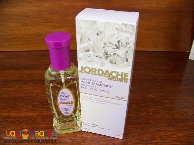 P1041 White Diamond of Elizabeth Taylor by Jordache Parfum for Women