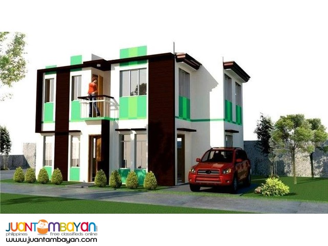 House Duplex 2-Storey as low as P13,936k monthly amort in Cordova Cebu