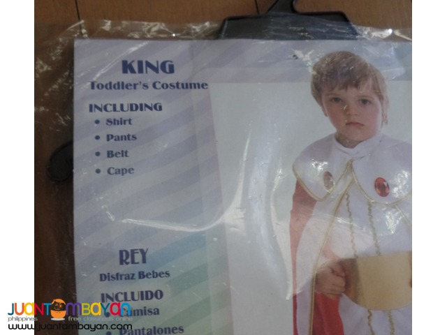 Little King or Prince Costume for baby (1yo)