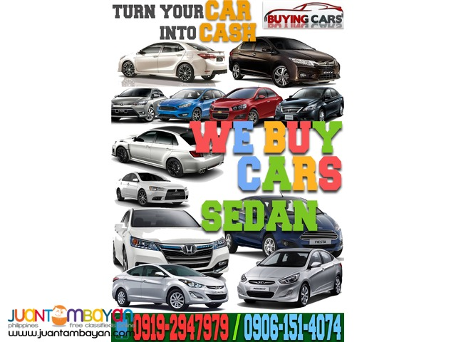 We Buy Cars  Buying Toyota Honda Mitsubishi Ford Hyundai Isuzu