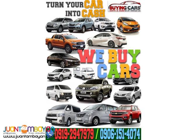 We Buy Cars  Buying Toyota Honda Mitsubishi Ford Hyundai Isuzu