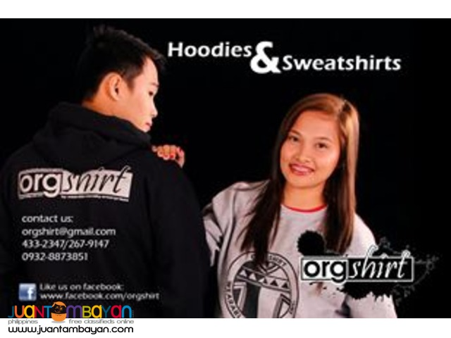 Customized Shirts, Hoodies, Dri-fit, Jackets and more