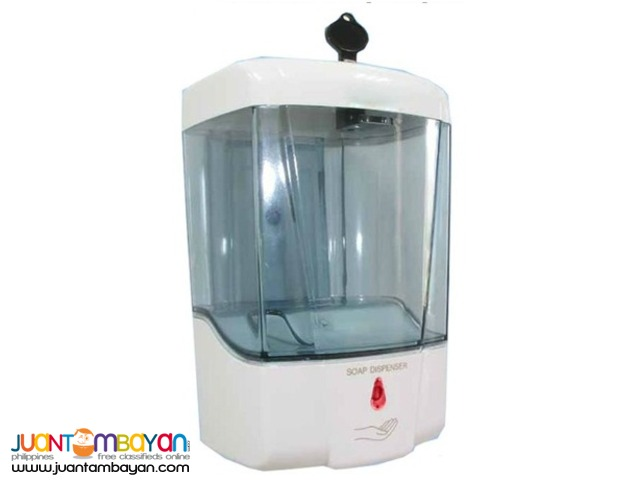 Automatic / No-touch Dispensers for hand-soap or sanitizer; 700ml