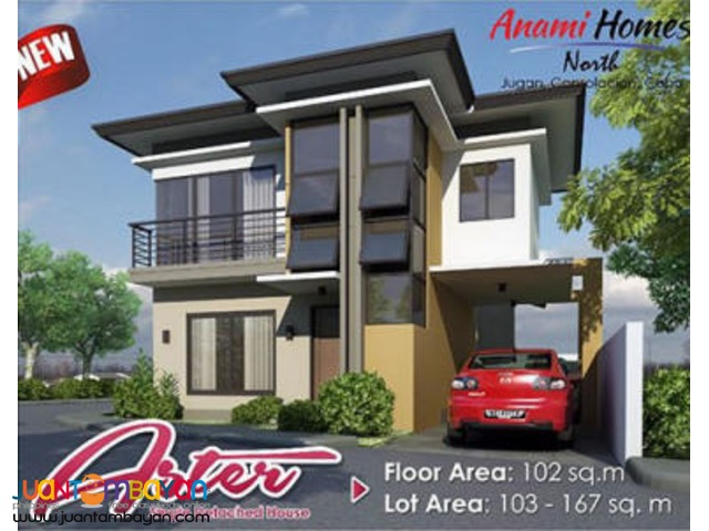 House & Lot new Aster unit in Consolacion