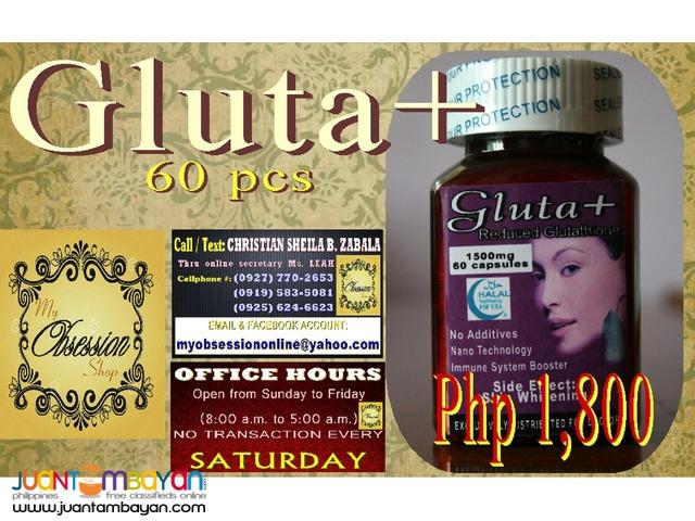 Gluta + 60 Capsules