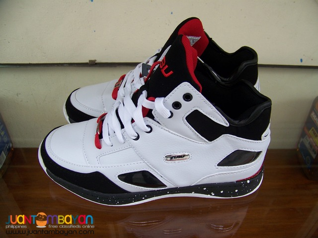 P2181 Fubu, Brand New, High Cut, White & Black from USA.
