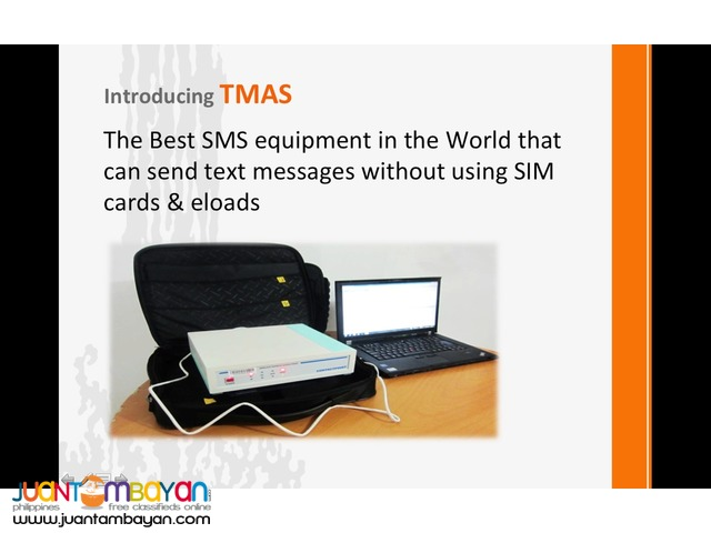 TMAS: Text Message Alert System
