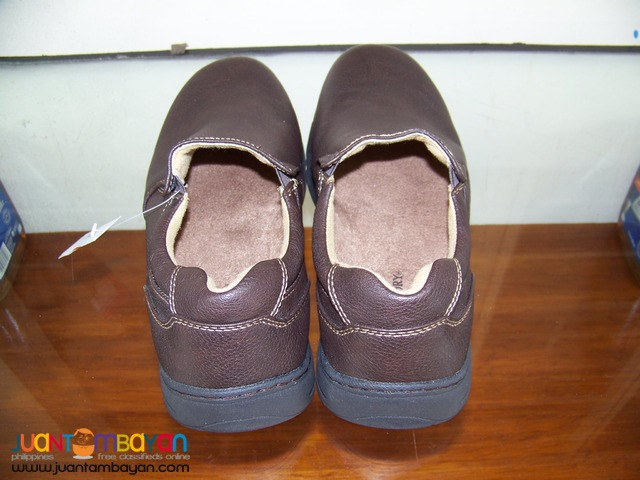 P8187 Faded Glory, Brand New, Casual, Brown Leather from USA.
