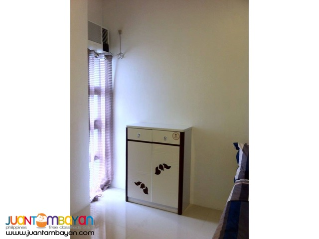 2 bedrooms fully furnished condo type near ayala