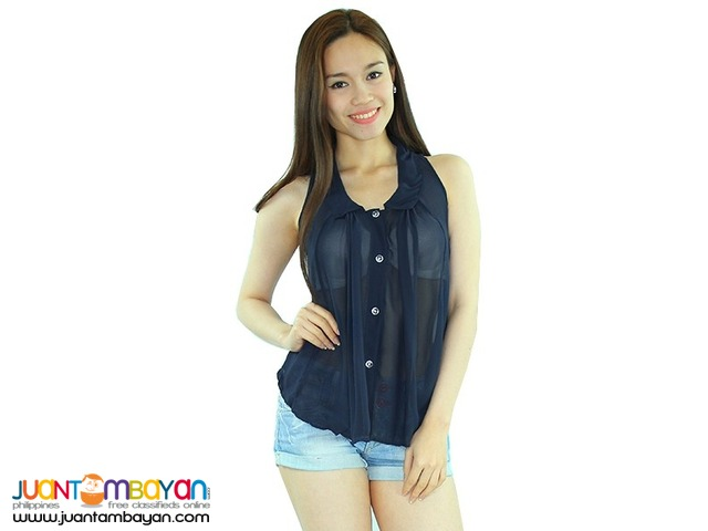 SLEEVELESS TOP  Reference: NU865