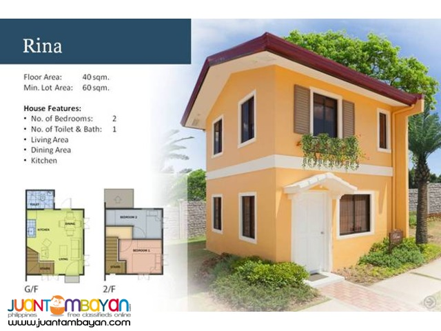 Camella Homes - Rina House and Lot Model
