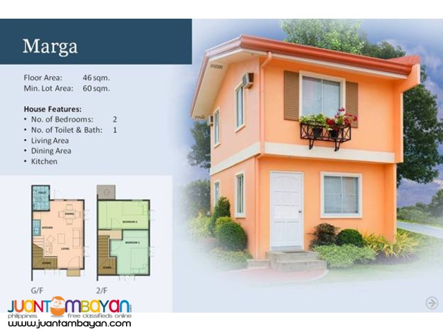Camella Homes - Marga House and Lot Model