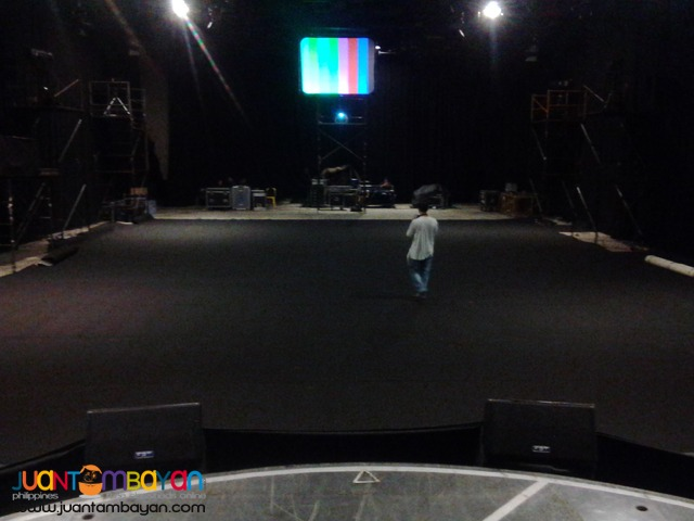 Stage and carpet for Rental