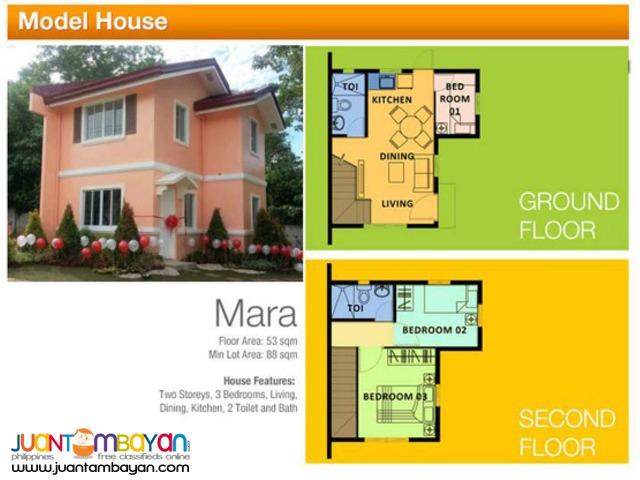 Camella Homes - Mara House and Lot Model