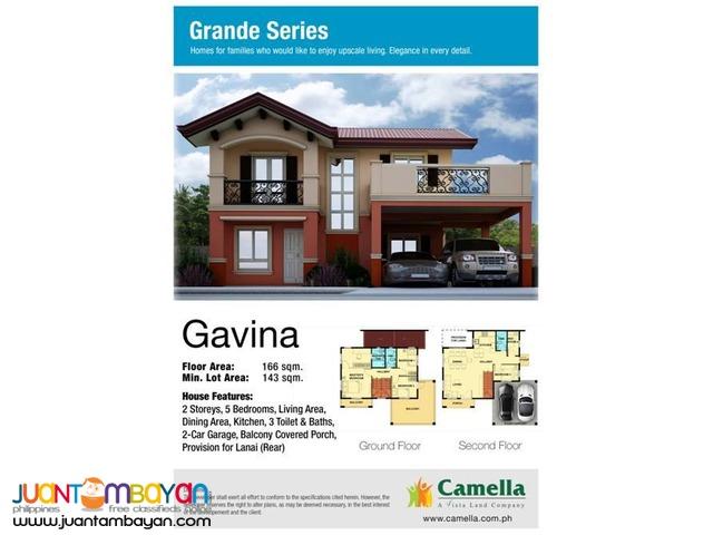 Camella Homes - Gavina Model House