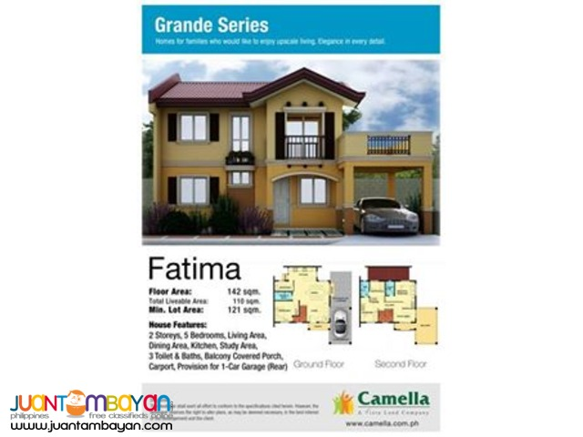 Camella Homes - Fatima House and Lot Model