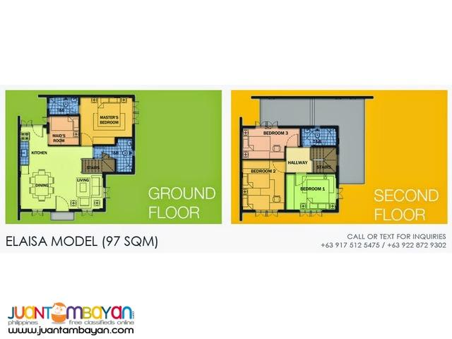 Camella Homes - Elaisa House and Lot Model
