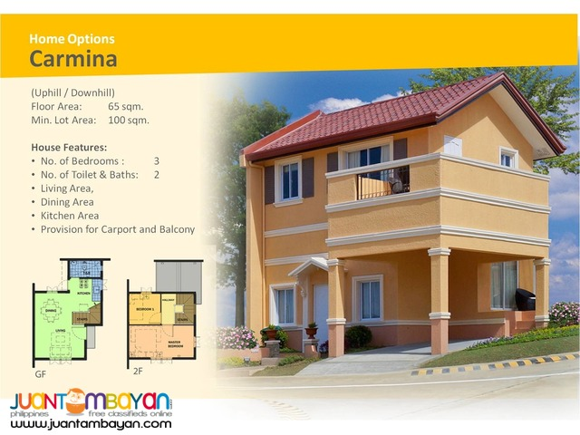 Camella Homes -Carmina Uphill House and Lot Model