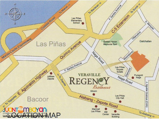 Rent to own in Paranaque Regency Residences in Gatchalian Subdivision
