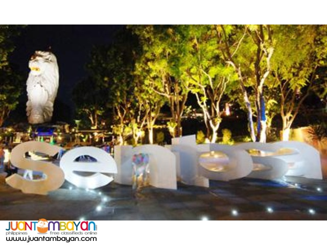 Singapore tour package, Sentosa Tourist Pack with 6 atrractions
