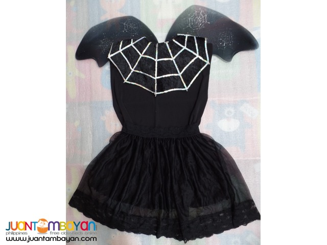 Web Fairy or Black Fairy Costume for Adults (Size L)