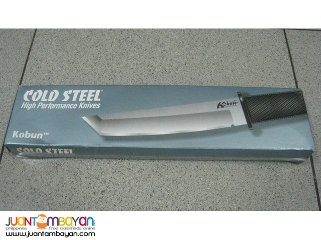 Cold Steel 17T Kobun Tanto Fixed Blade Knife