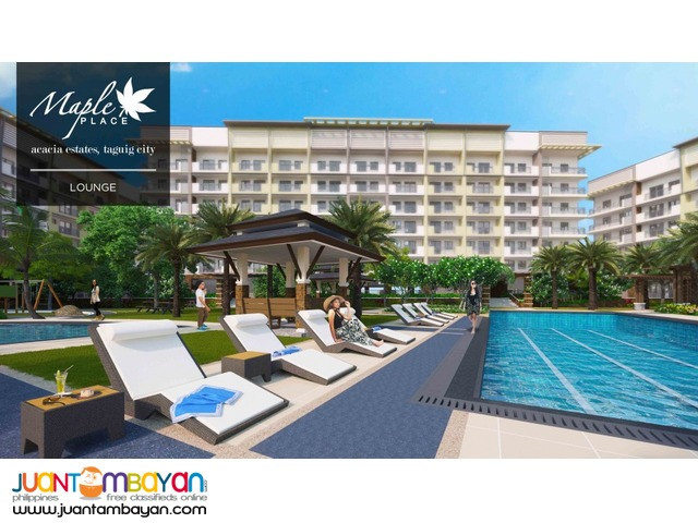 12k+/mo. for 2br CONDO UNIT in TAGUIG CITY by DMCI HOMES