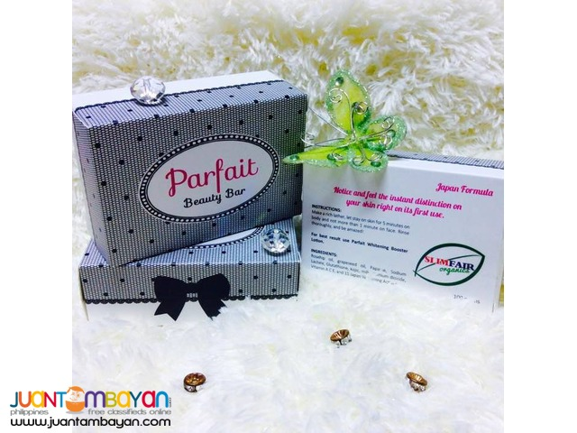 PARFAIT WHITENING BEAUTY BAR (3 Days Visible Results)