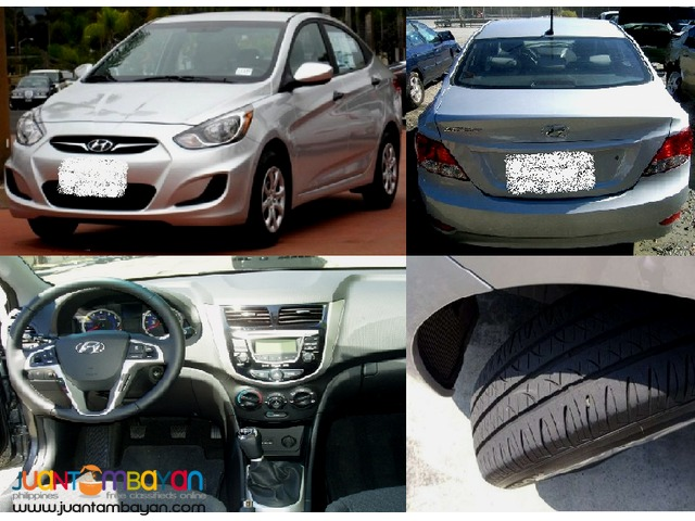 RUSH SALE HYUNDAI ACCENT SEDAN (2012 MODEL)