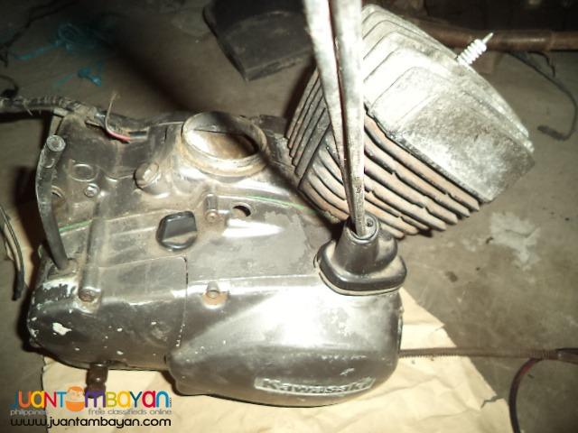kawasaki 100cc hdx engine with CR