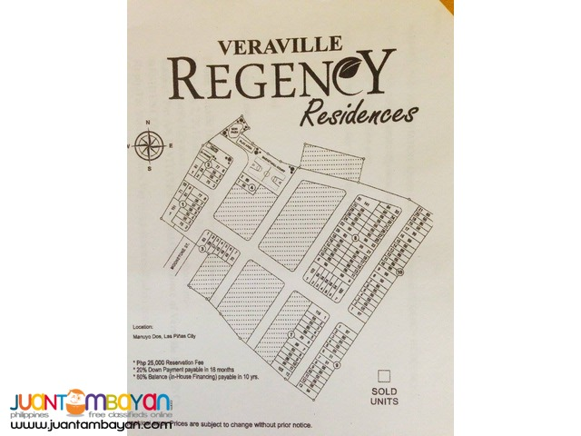Regency Residences in Gatchalian Subd Paranaque