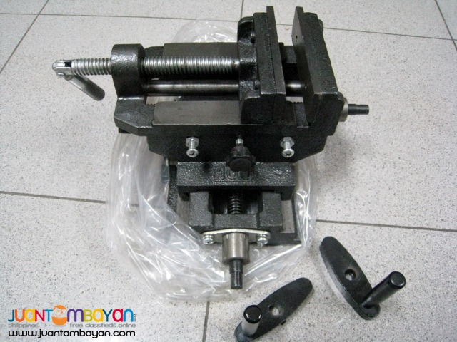 4 inch Cross Slide Vise Wide Drill Press X -Y Clamp