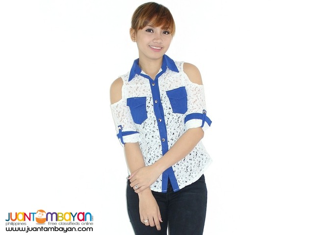 LACED BLOUSE  Reference: NU362