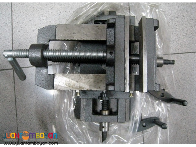 5 inch Cross Slide Vise Wide Drill Press X -Y Clamp