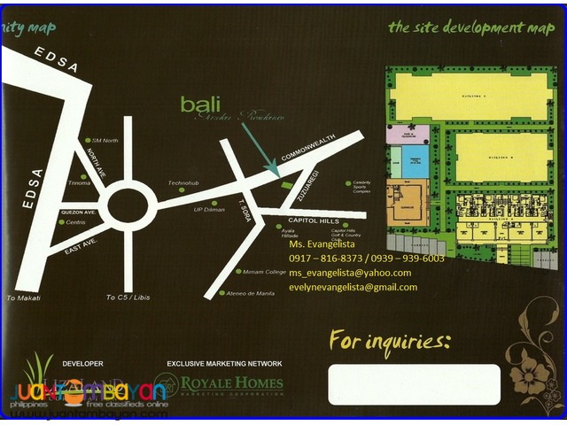 Condominium in Bali Garden Residences two bedroom