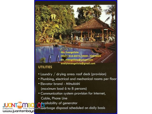 Condominium in Bali Garden Residences two bedroom