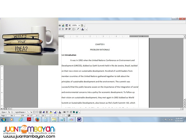Thesis Writing Research Consulation for Business College Students
